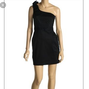 French Connection Black Bow Dress